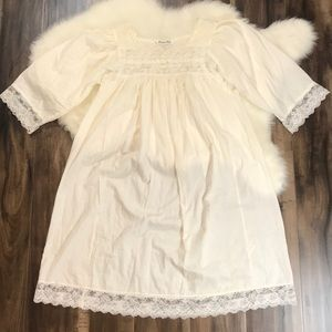 CHRISTIAN DIOR Vintage Lace Chemise Nightgown